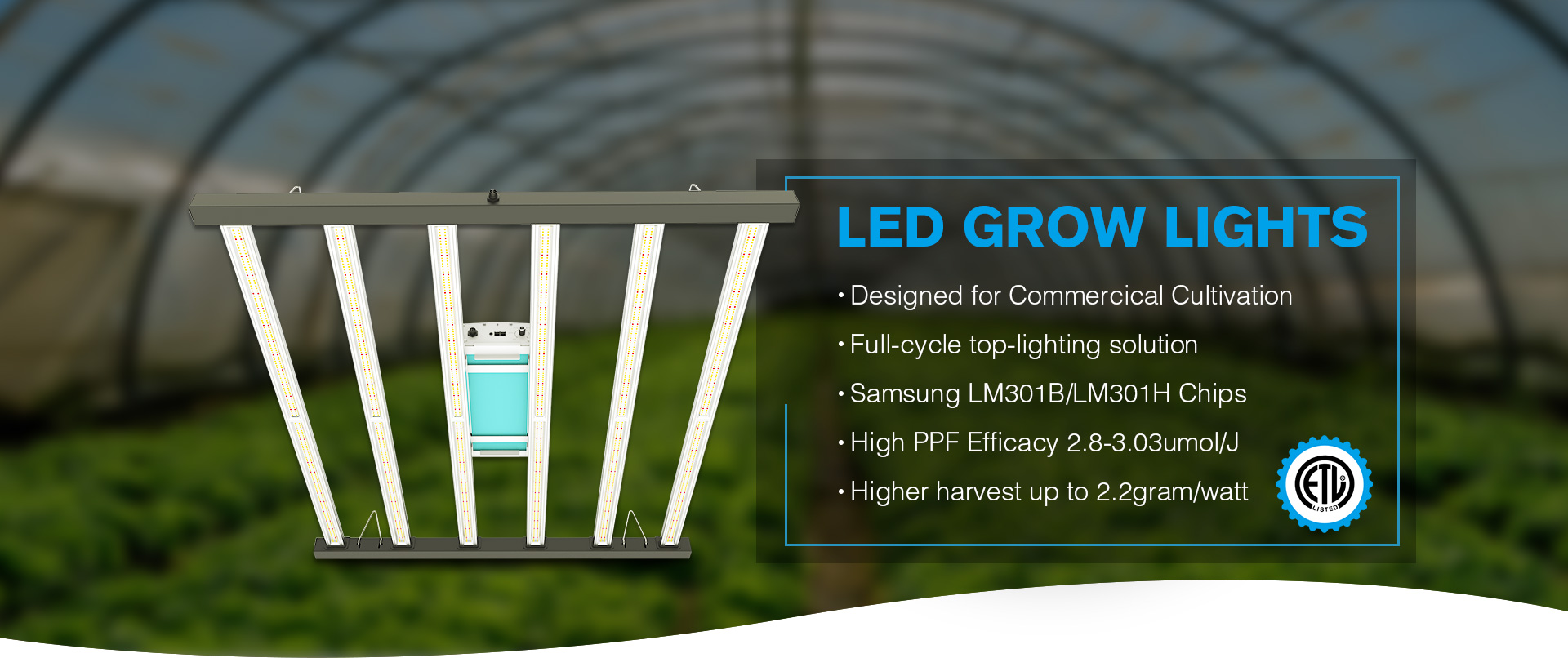 Flodable Samsung SPyder LED Grow Lights