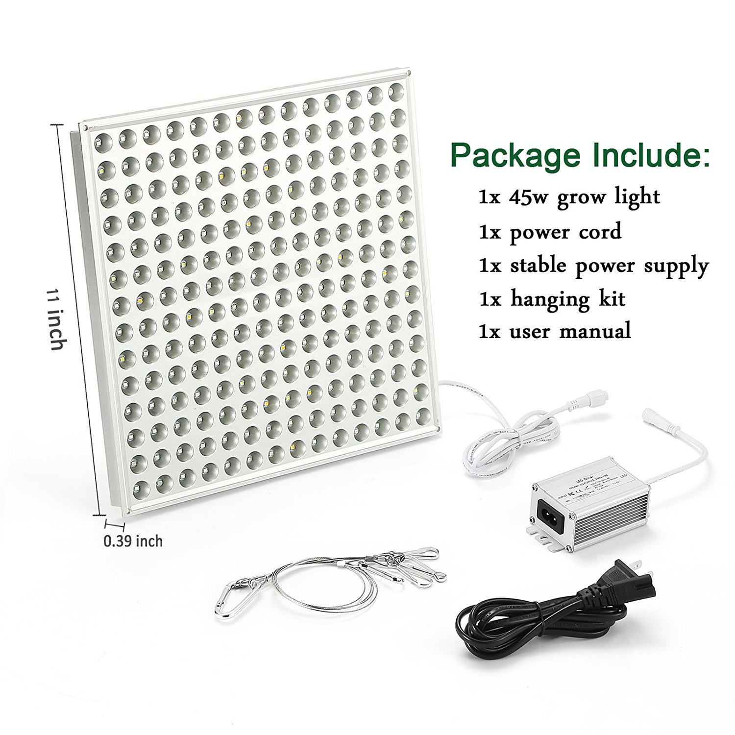 45w Panel Led Grow Lights