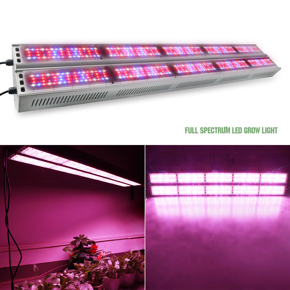 1500w High Power fanless IP65 led grow lights with full spectrum