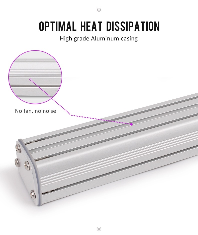 4 feet ,3 feet, 2 feet led grow light bar with IP65 waterproof