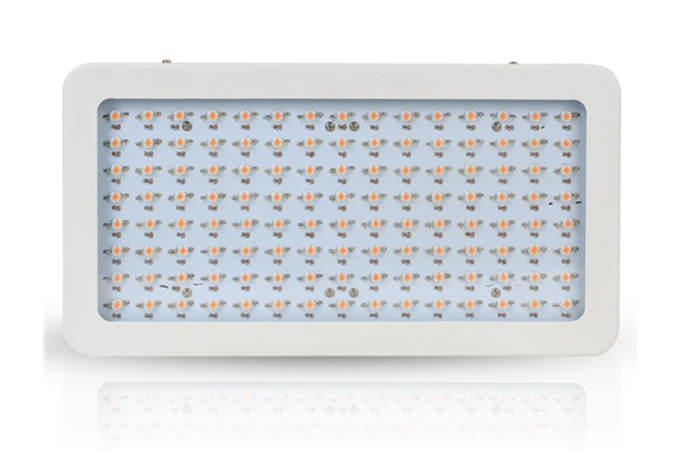 600w led grow lights which use 5w leds, iron housing