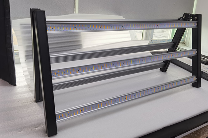 Floding spider led grow lights with Samsung Osram chips and full spectrum